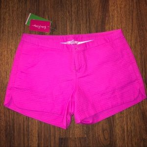 NWT Lilly Pulitzer Audie Shorts Pink